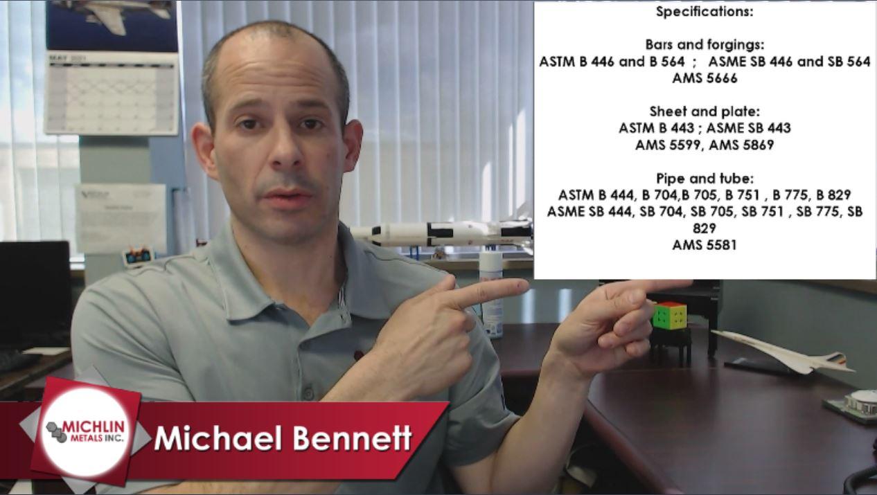 Video 34 Thumbnail - Inconel 625