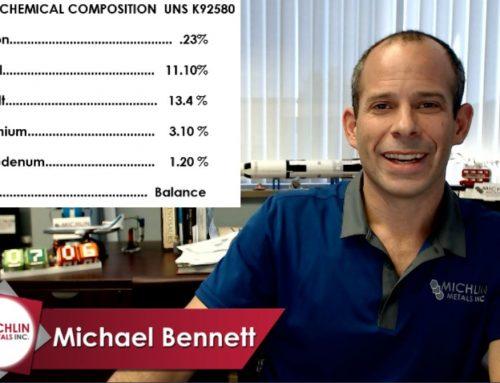 Aermet 100 – AMS 6532 – Round Bar – Aermet 100 Chemistry – Specifications